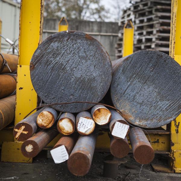 acciai al carbonio magazzino stampaggio a caldo dell'acciaio