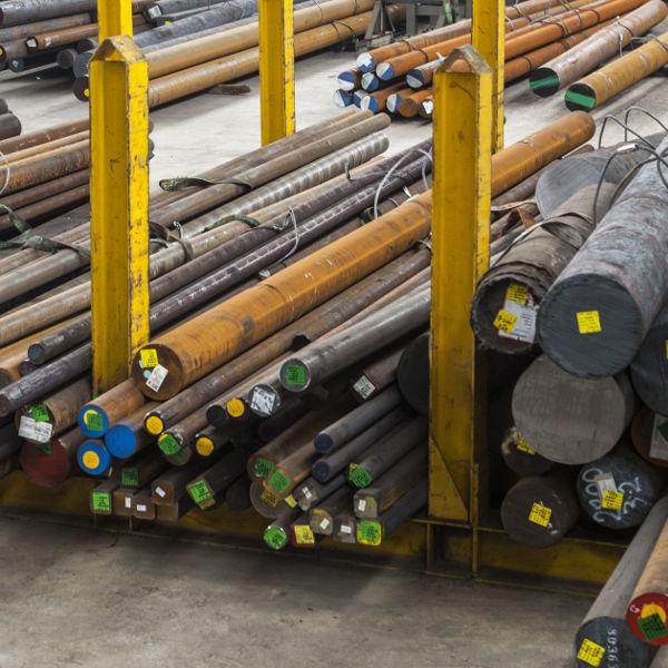 azienda stampaggio acciao - magazzino materie lavorazione